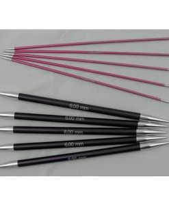 Knit Pro Zing Double Pointed Needles 15cm