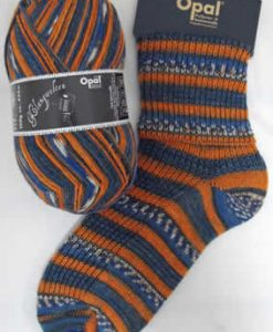 Opal Klangwelten 9041 Songwriter sock / glove knitting yarn