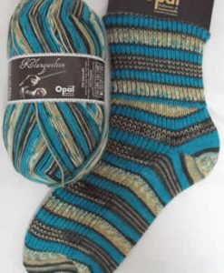 Opal Klangwelten 9044 Baton sock / glove knitting yarn
