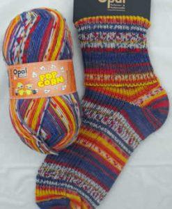 Opal Popcorn 9100 Alex & Wanda sock / glove knitting yarn