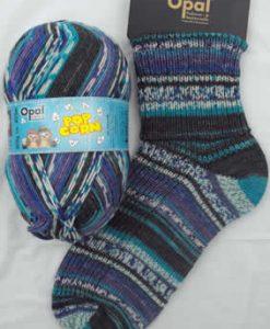 Opal Popcorn 9101 - Lisel & Peter sock / glove knitting yarn