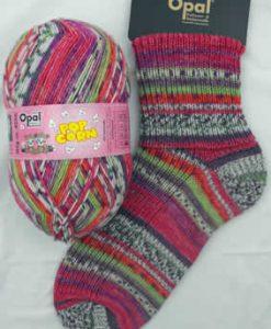 Opal Popcorn 9102 - Lotte & Hans sock / glove knitting yarn