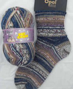 Opal Popcorn 9103 - Rupert & Heide sock / glove knitting yarn