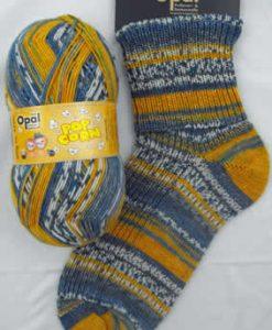 Opal Popcorn 9104 - Dana & Rob sock / glove knitting yarn