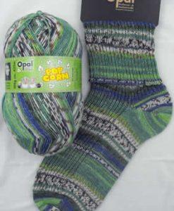 Opal Popcorn 9105 - Micha & Conny sock / glove knitting yarn