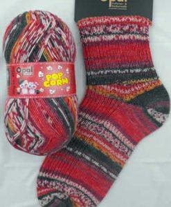 Opal Popcorn 9106 Bernd & Vroni sock / glove knitting yarn