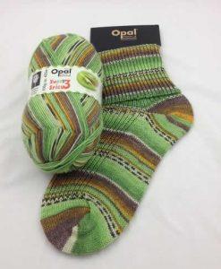 Opal Sweet and Spicy 3 9124 - Kiwi sock / glove knitting yarn