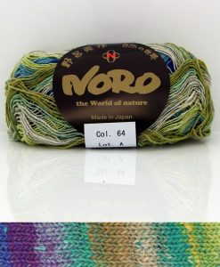 Noro Taiyo shade 64 sock / glove knitting yarn