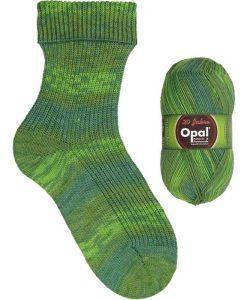 Opal 20 years 9281 Glueckwuensche (Congratulations) sock / glove knitting yarn