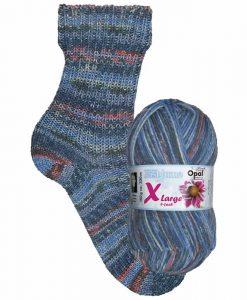 Opal Eisblume (Frost Flower) 9221 Frost 8-ply sock / glove knitting yarn
