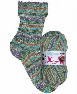 Opal Eisblume (Frost Flower) 9222 Eiskristalle (Ice Crystal) 8-ply sock / glove knitting yarn