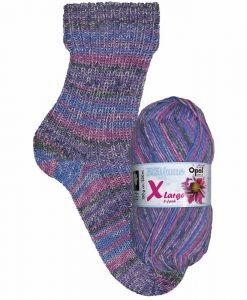 Opal Eisblume (Frost Flower) 9223 Schneegestöber (Snow Storm) 8-ply sock / glove knitting yarn