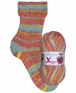 Opal Eisblume (Frost Flower) 9224 Stille (Silence) 8-ply sock / glove knitting yarn