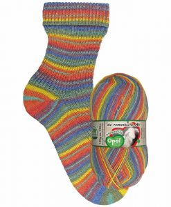 Opal Schafpate VIII 9206 Eye-Catcher (Blickfang) 4-ply sock / glove knitting yarn