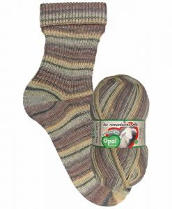 Opal Schafpate VIII 9207 Forest Hike (Waldwanderung) 4-ply sock / glove knitting yarn