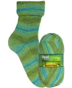 Opal Sunrise 9446 Melodie des Tages (Melody of the Day) 4-ply sock / glove knitting yarn