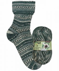 Opal Rainforest 14 XIV 9621 Coco der Chocolatier 4-ply sock / glove knitting yarn