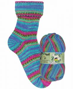 Opal Rainforest 14 XIV 9622 Zoey die Zuckerbäckerin (the confectioner) 4-ply sock / glove knitting yarn