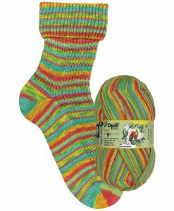 Opal Rainforest 14 XIV 9626 Die Dessertmeister (the dessert master) 4-ply sock / glove knitting yarn