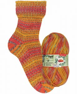Opal Rainforest 14 XIV 9627 Sascha der Sommelier 4-ply sock / glove knitting yarn