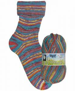 Opal Frühlingsduft (Spring Scent) 9552 Blütezeit (Heyday) 3-ply light sock / glove knitting yarn