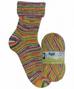 Opal Frühlingsduft (Spring Scent) 9553 Knospen (Bud) 3-ply light sock / glove knitting yarn
