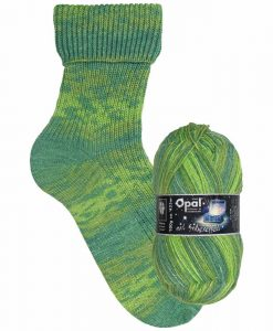 Opal Lucky mit Silbereffekt (with Silver Effect) 9482 Vergnügt (Jolly) 4-ply sock / glove knitting yarn
