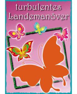 Opal Butterfly 9650 Turbulentes Landemanöver (Rough Landing) 4-ply sock / glove knitting yarn