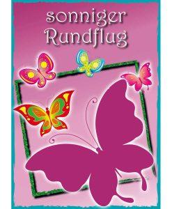 Opal Butterfly 9651 Sonniger Rundflug (Sunny Sightseeing) 4-ply sock / glove knitting yarn