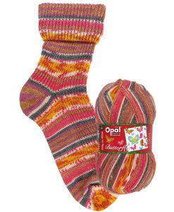 Opal Butterfly 9652 Erster Lichtblick (First Glance) 4-ply sock / glove knitting yarn