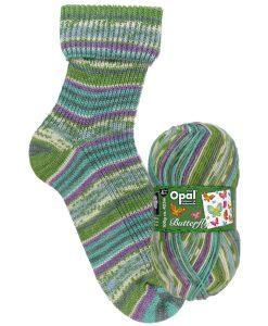 Opal Butterfly 9653 Leises Flattern (Soft Flutter) 4-ply sock / glove knitting yarn