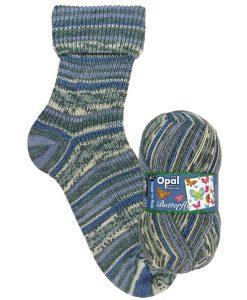 Opal Butterfly 9654 Verpuppte Schönheit (Beautiful Transformation) 4-ply sock / glove knitting yarn
