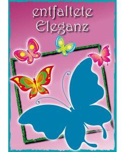 Opal Butterfly 9656 Entfaltete Eleganz (Unfolded Elegance) 4-ply sock / glove knitting yarn