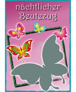 Opal Butterfly 9657 Nächtlicher Beutezug (Nocturnal Descent) 4-ply sock / glove knitting yarn