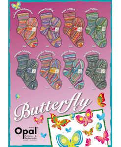 Opal Butterfly 4-ply
