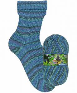 Opal Rainforest 16 XVI 9903 Der Drahtzieher (The Mastermind) 4-ply sock / glove knitting yarn