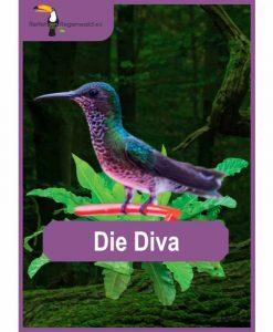 Opal Rainforest 16 XVI 9905 Die Diva (The Diva) 4-ply sock / glove knitting yarn