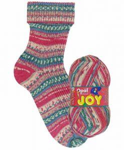 Opal Joy 9986 Lebensfreude (Joy) 4-ply sock / glove knitting yarn